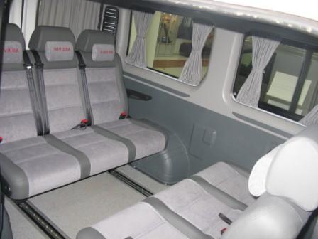 Микроавтобус бизнес- купе. Малый микроавтобус категории В.